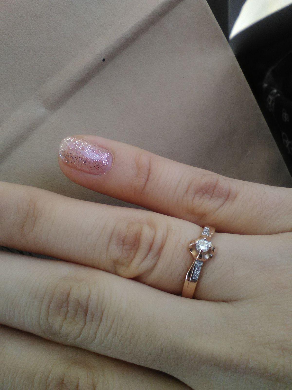 Красивое кольца