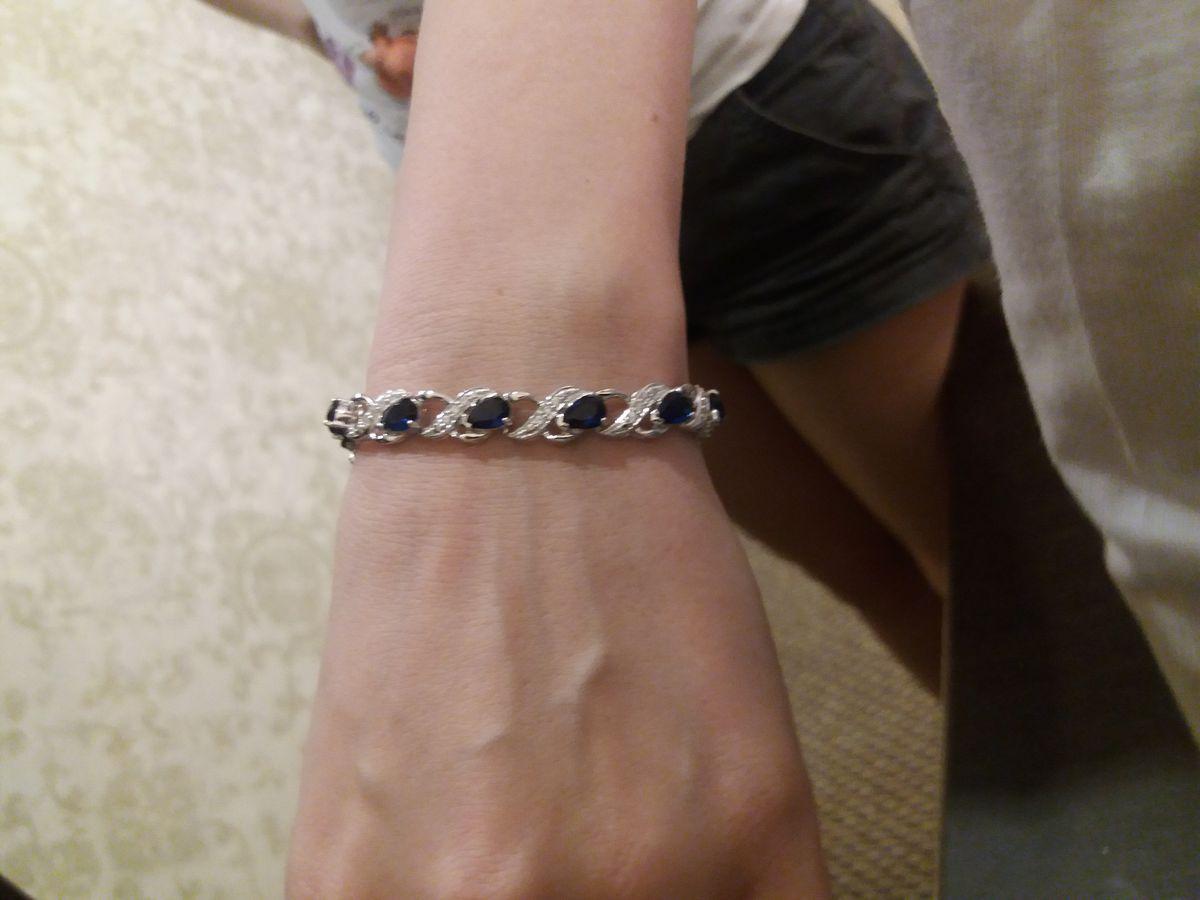 Серебрянный браслет - настоящее чудо! Непередаваемое чувство восторга!!!!!!