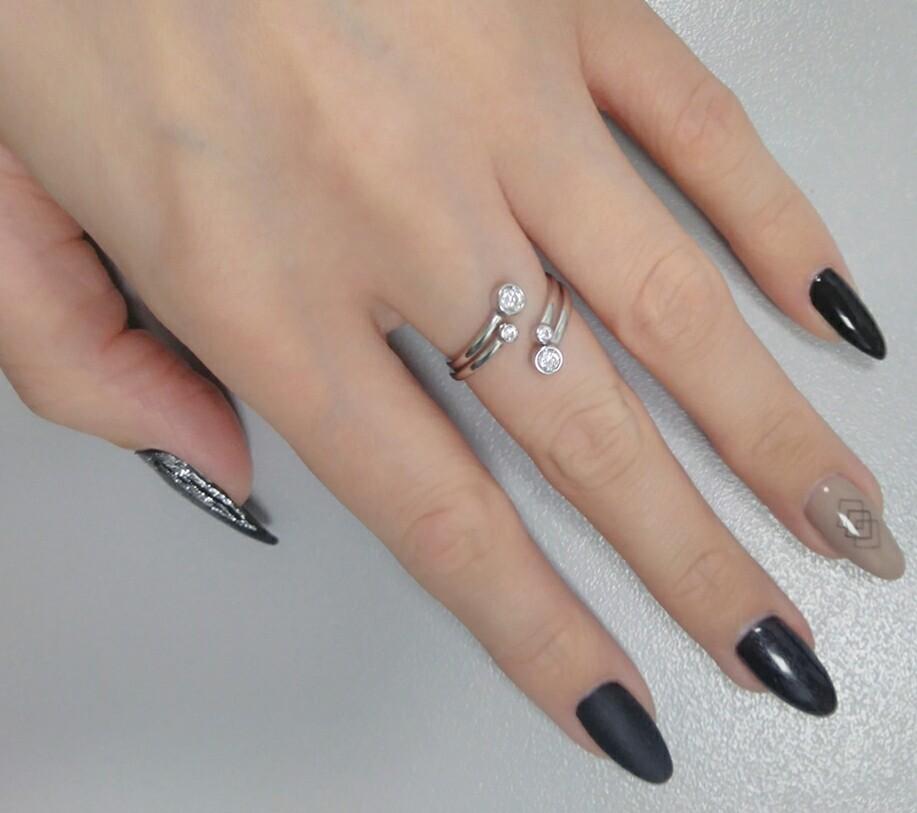 Открытое кольцо из серебра SOKOLOV