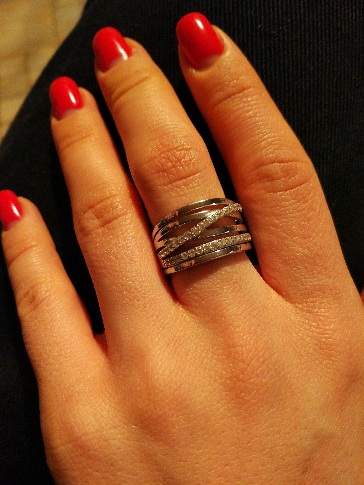Обожаю объёмные кольца!