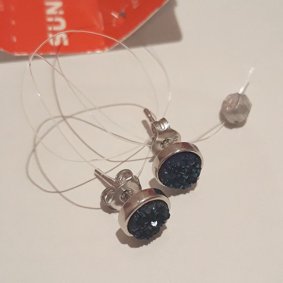 Друзда синих кристаллов