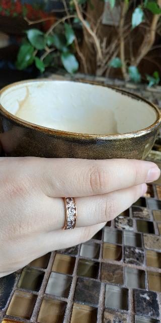 Прекрасное, нежное кольцо