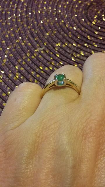 Нежное и изысканное кольцо