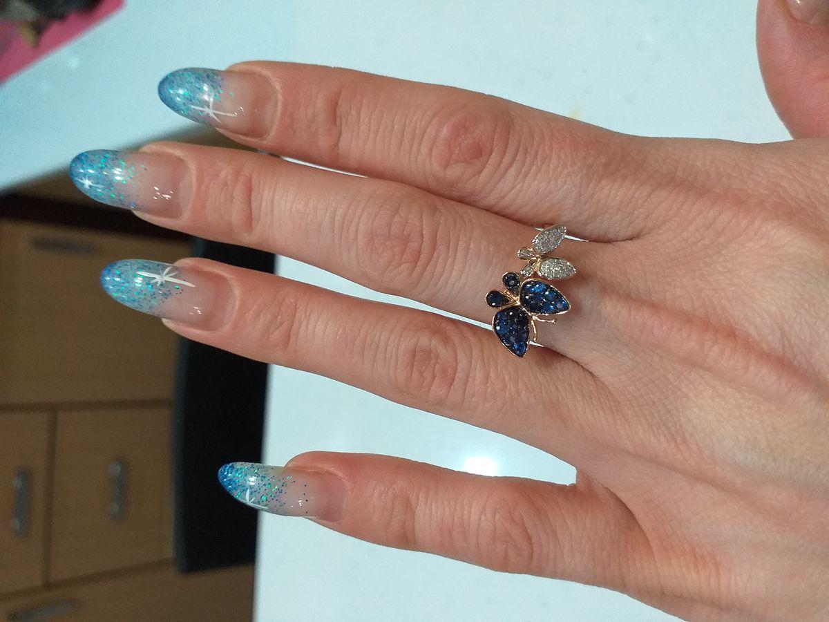 Особенно нежное кольцо!