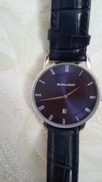Часы наручные синие