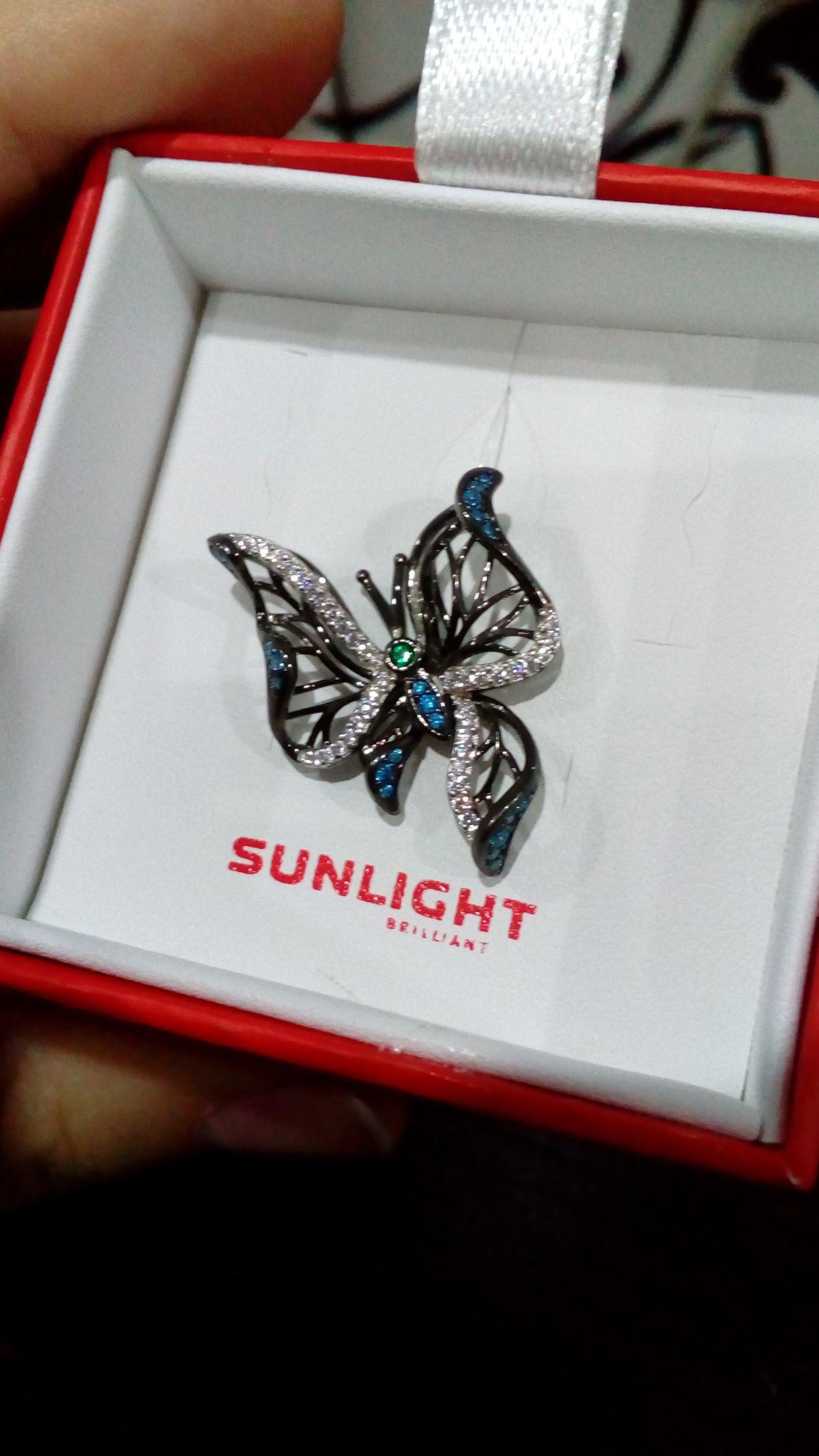 Бабочка как живая