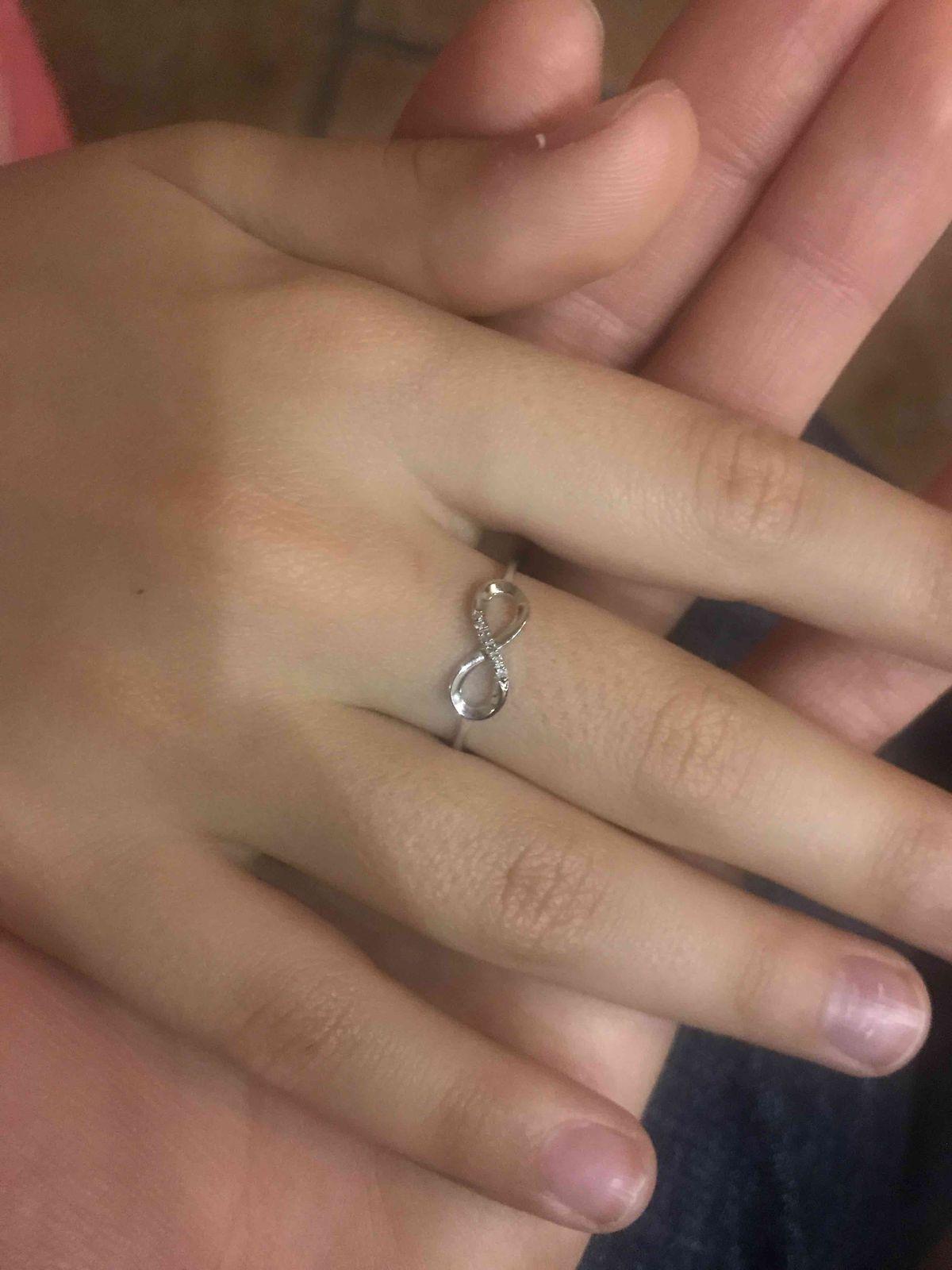 Нежное кольцо, для нежных пальчиков