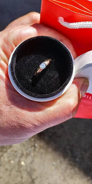 Кольцо классическое.