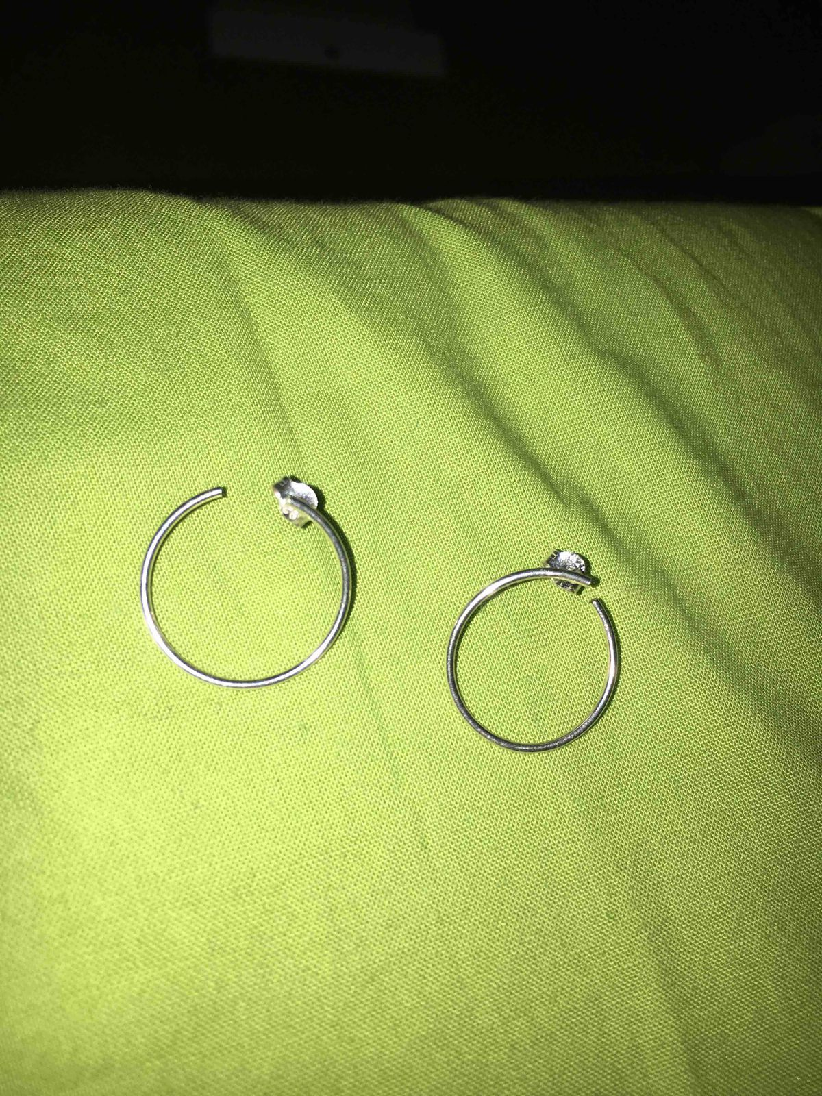 Серебрянные сережки
