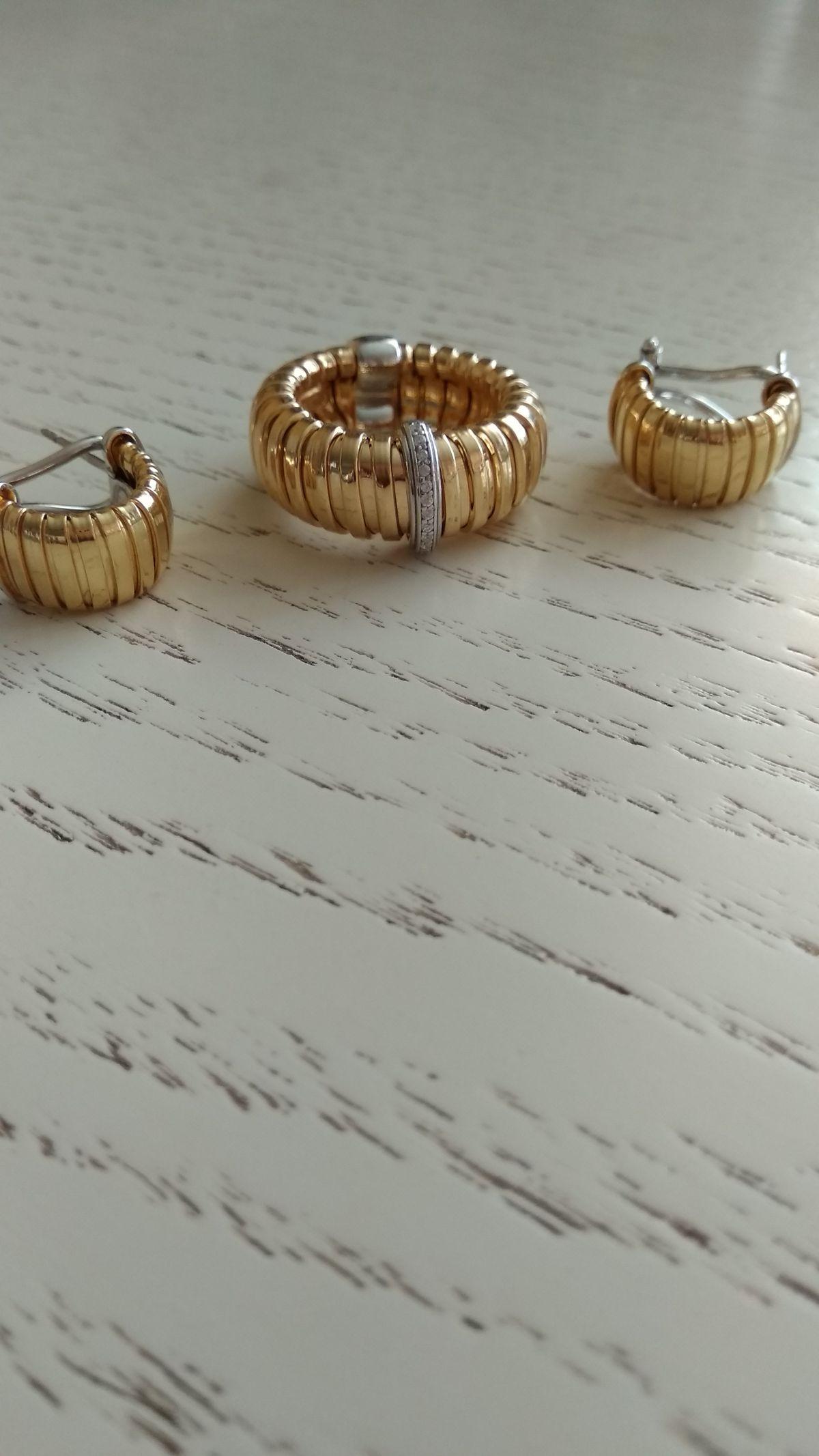 Сережки под кольцо.