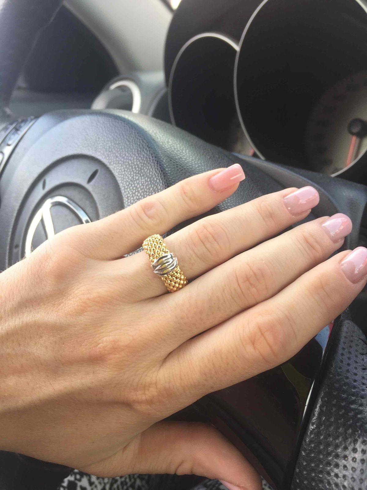 Оригинальное кольцо из коллекции Italia