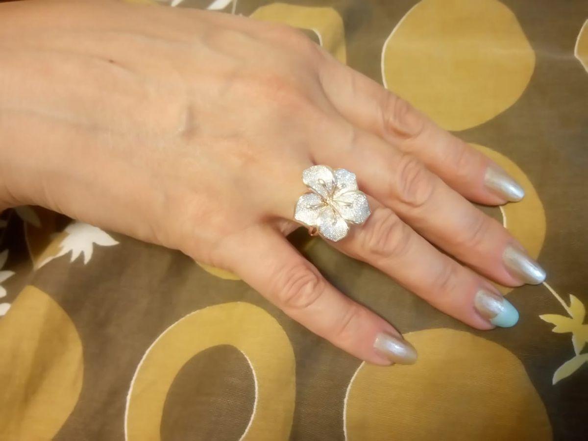 Шедевральное лакшери кольцо