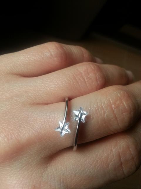 Кольцо со звёздочками