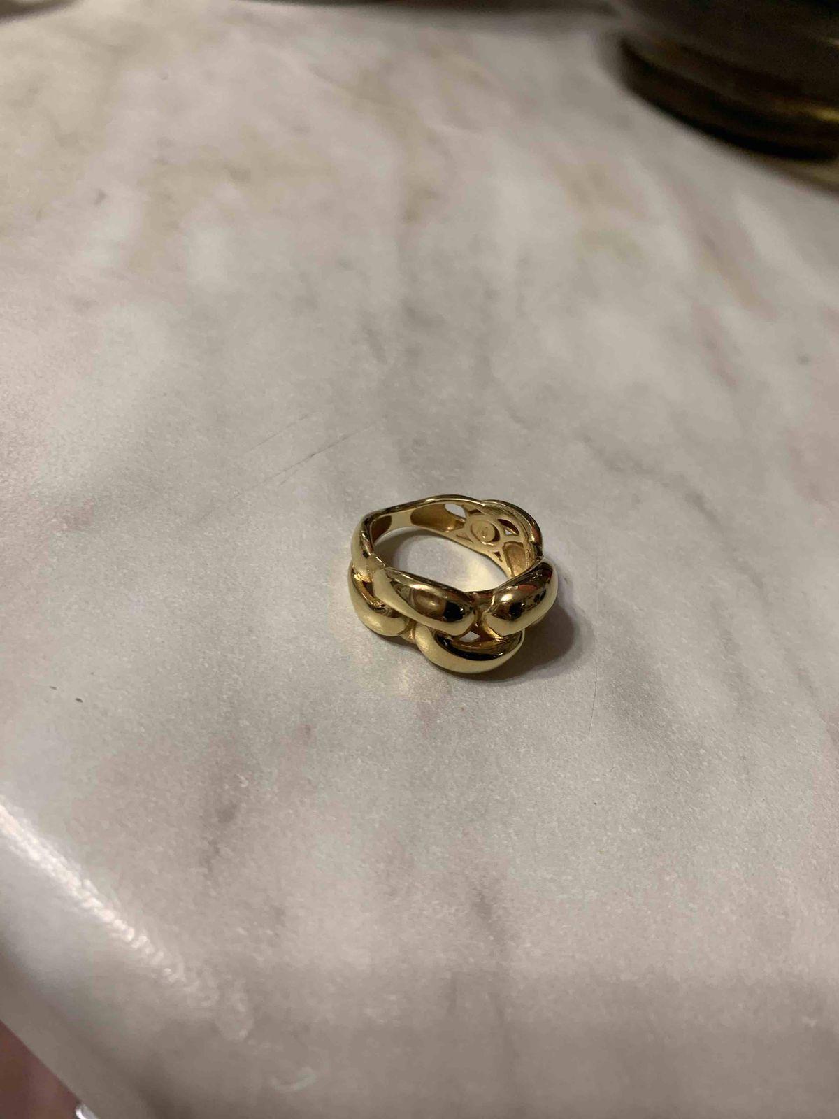 Кольцо бракованое