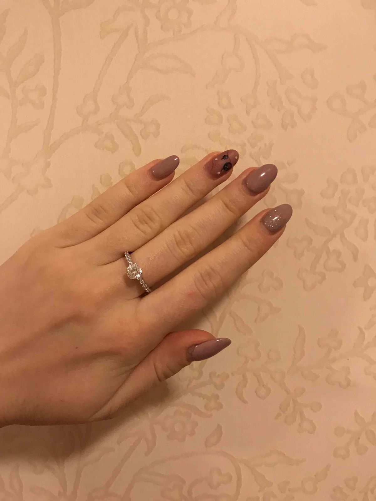 Серебряное кольцо