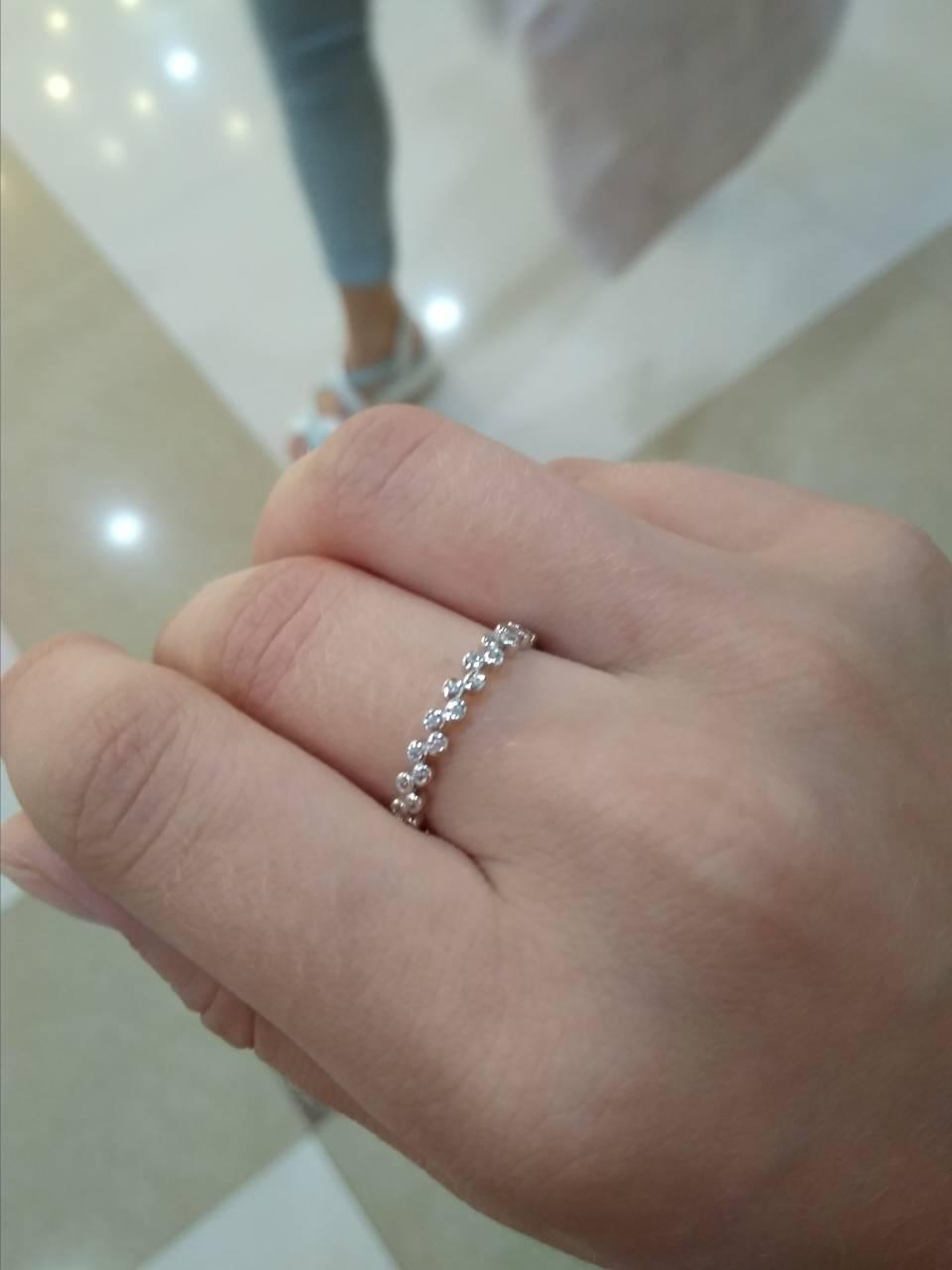 Очееь нежное кольцо