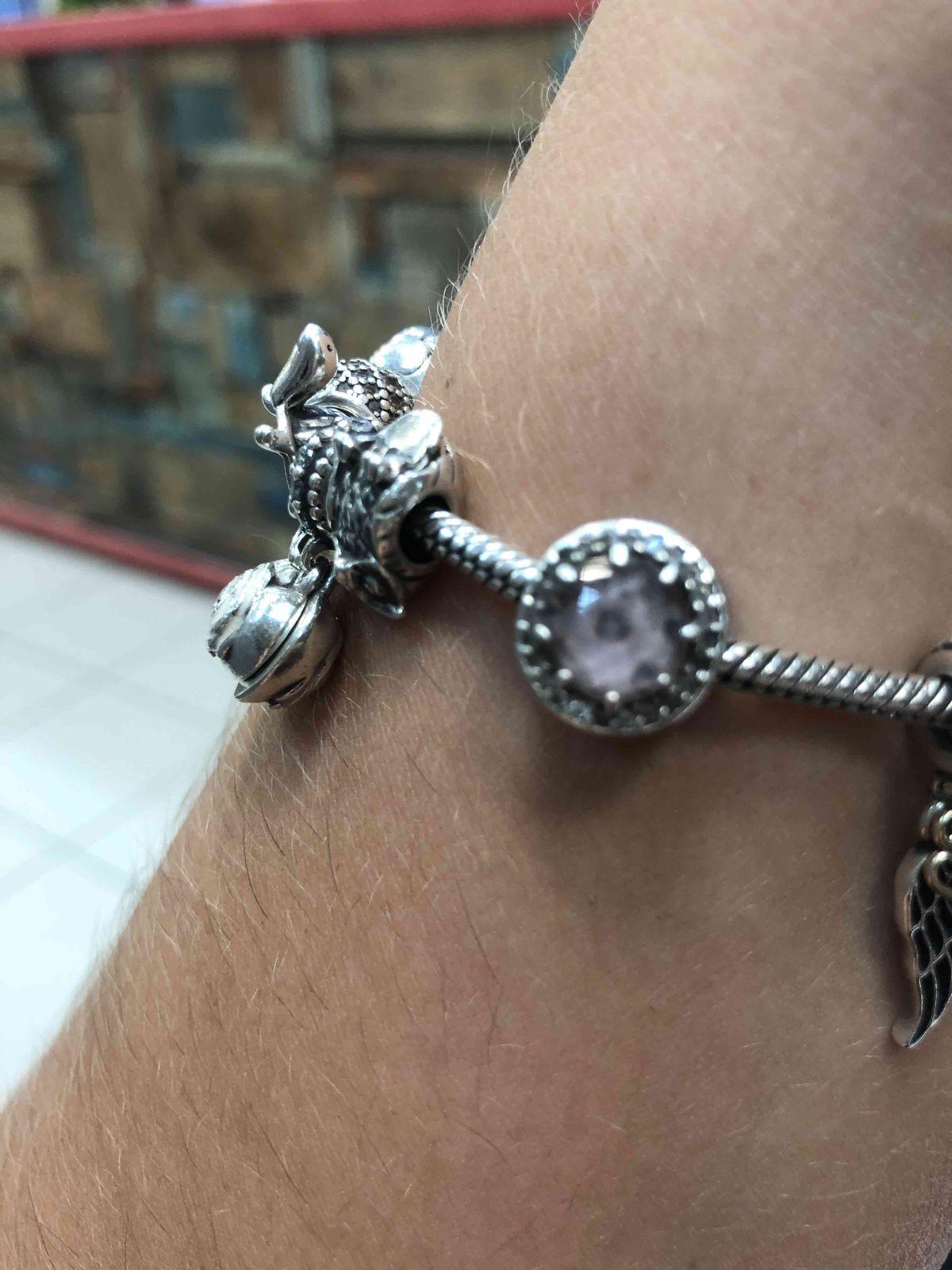 Подвеска серебрянная на браслет