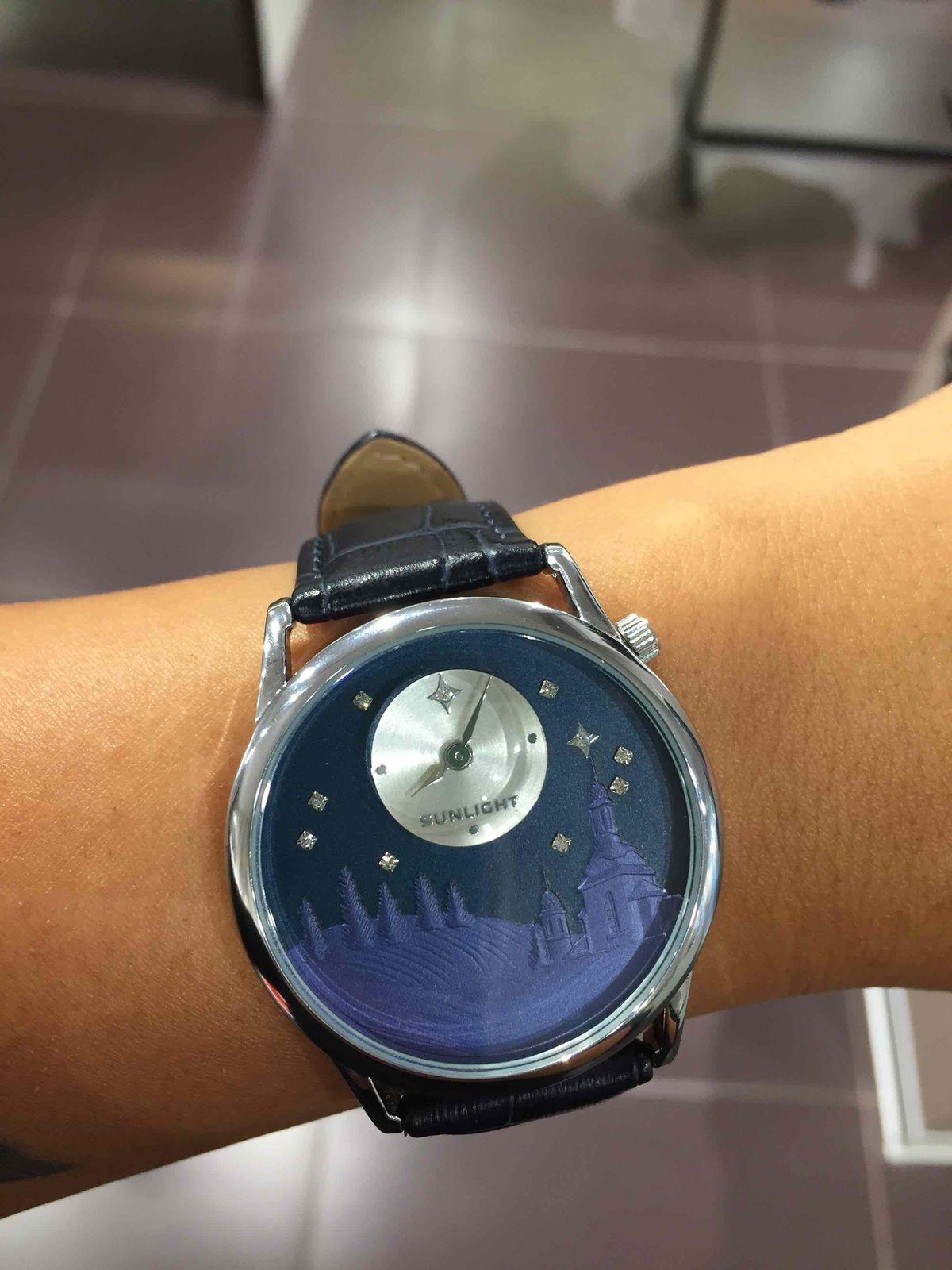 Обожаю носить часы!