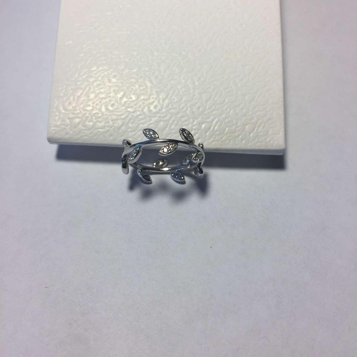 Серебряное кольцо, размер 16.5
