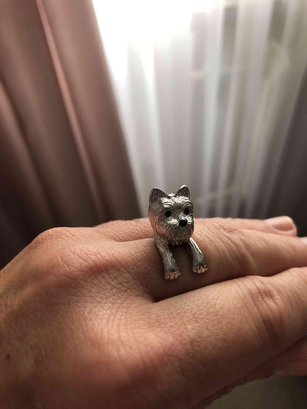 Кольцо-Собачка
