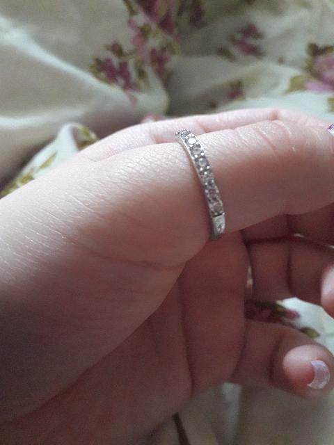 Очень красивое кольцо на каждый день.
