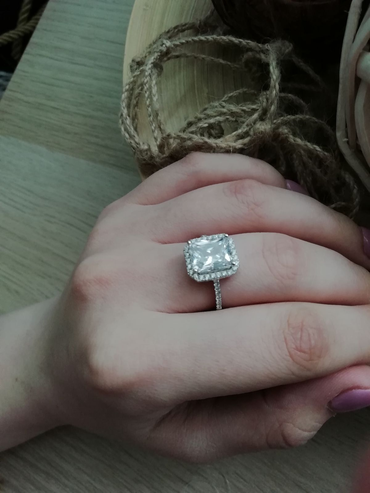 Изящное кольцо 😍