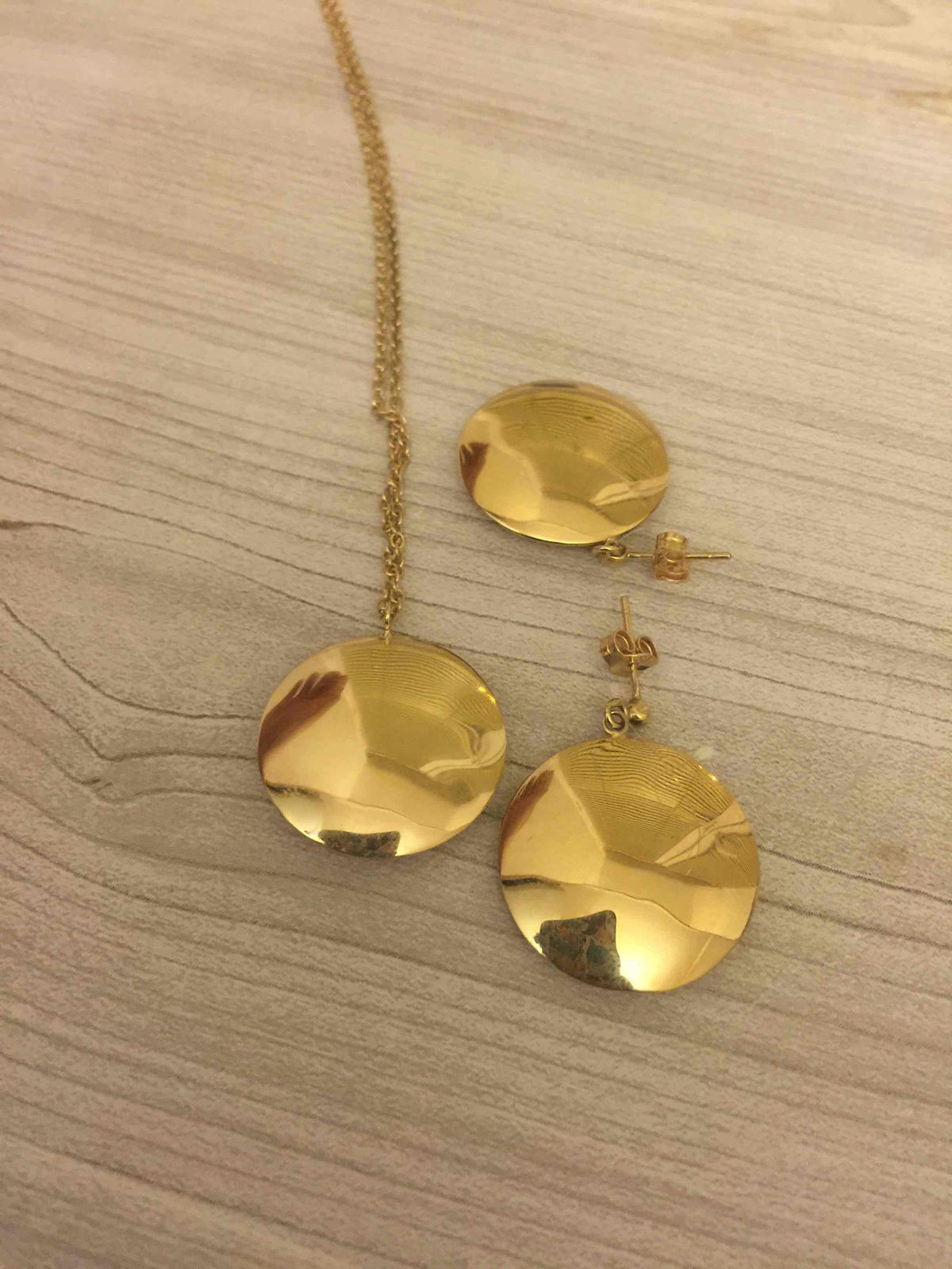 Золотые сережки
