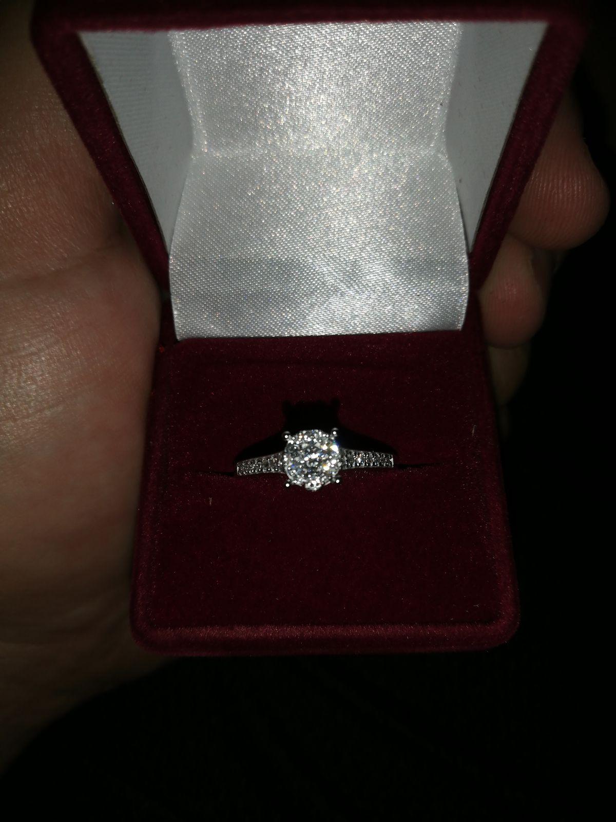 Прекрасное кольцо для предложения
