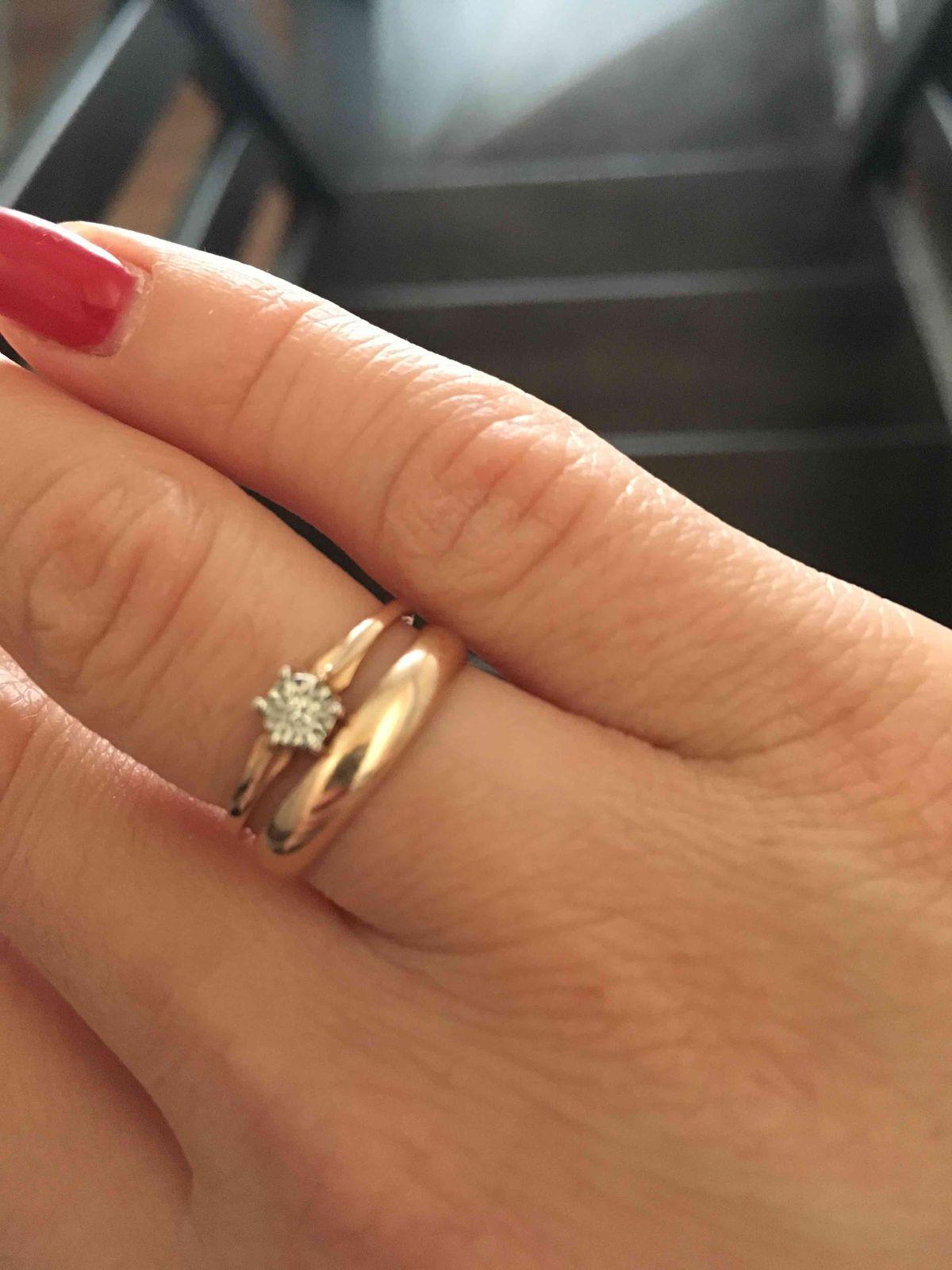 Отличная пара для обручального кольца