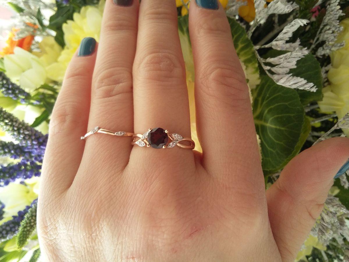 Кольцо с граном моя новая любовь ❤❤❤