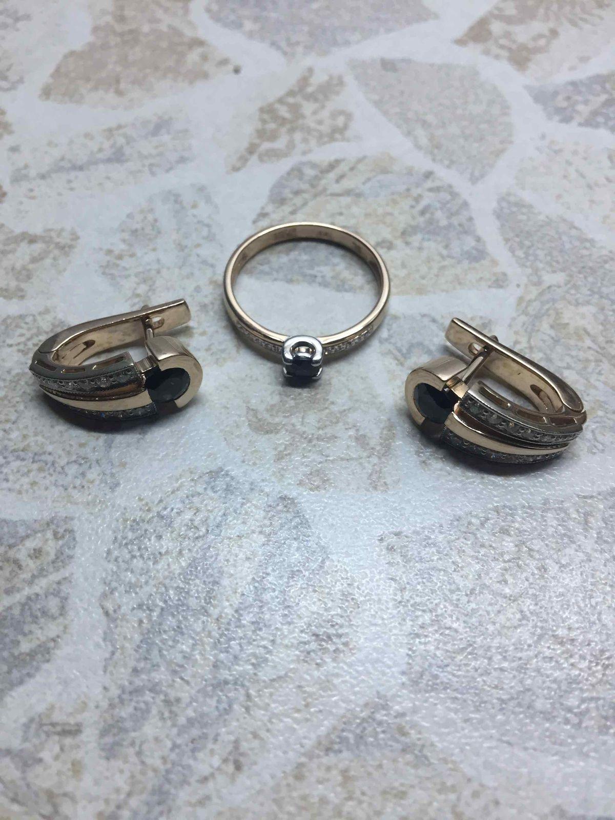 Давно искала аккуратное кольцо с сапфиром и вот нашла в магазине sl