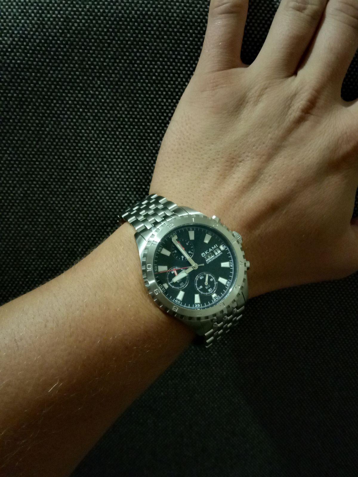 Часы хронограф оками