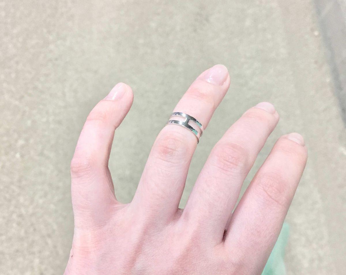 Кольцо на фалангу💍😍