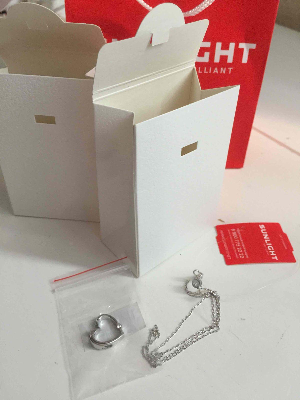 Нежная, но крепкая цепочка из серебра, купленна мной пр невороятной скидке!