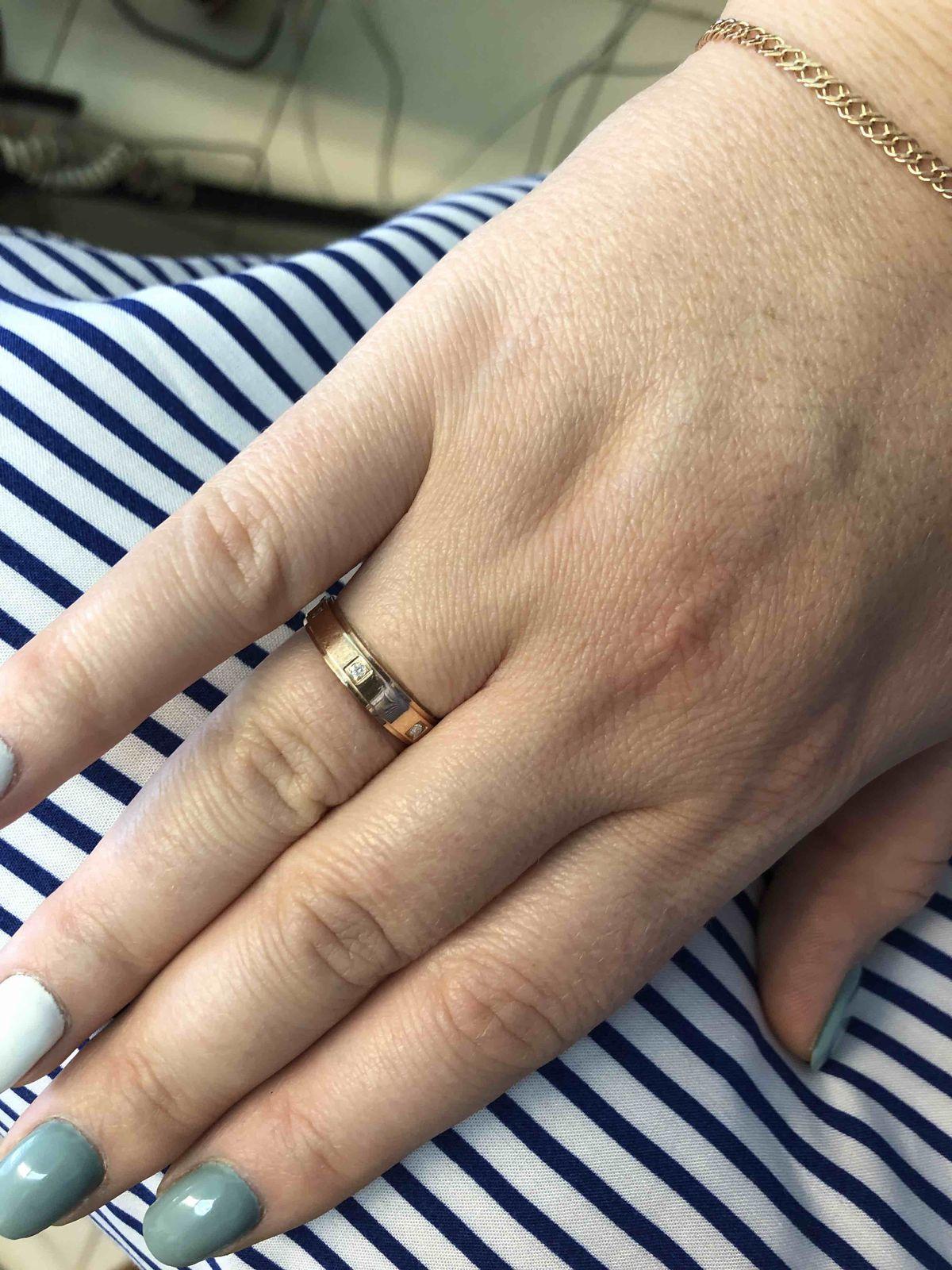 Кольцо на хрустальную свадьбу