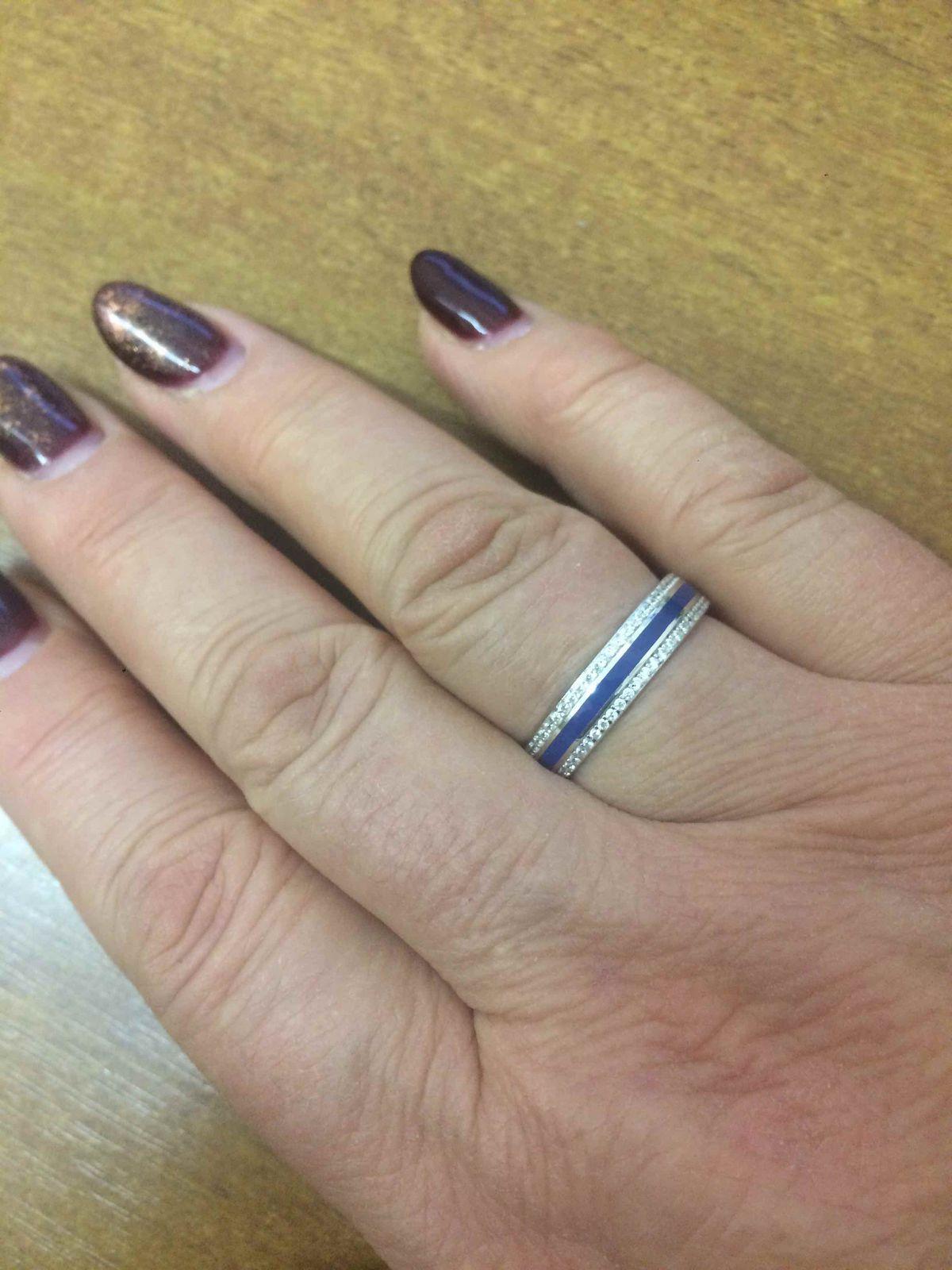 Покупка серебряного кольца