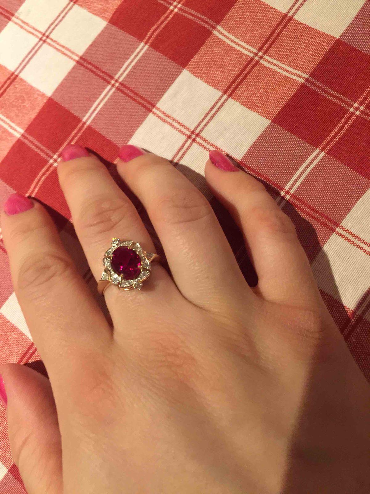 Роскошное кольцо!🌸