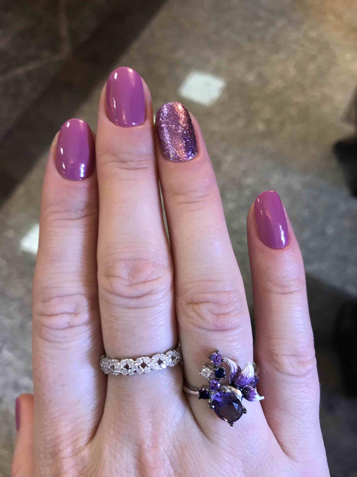 Нежное элегантное кольцо