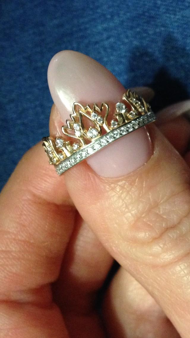 Женственное кольцо!