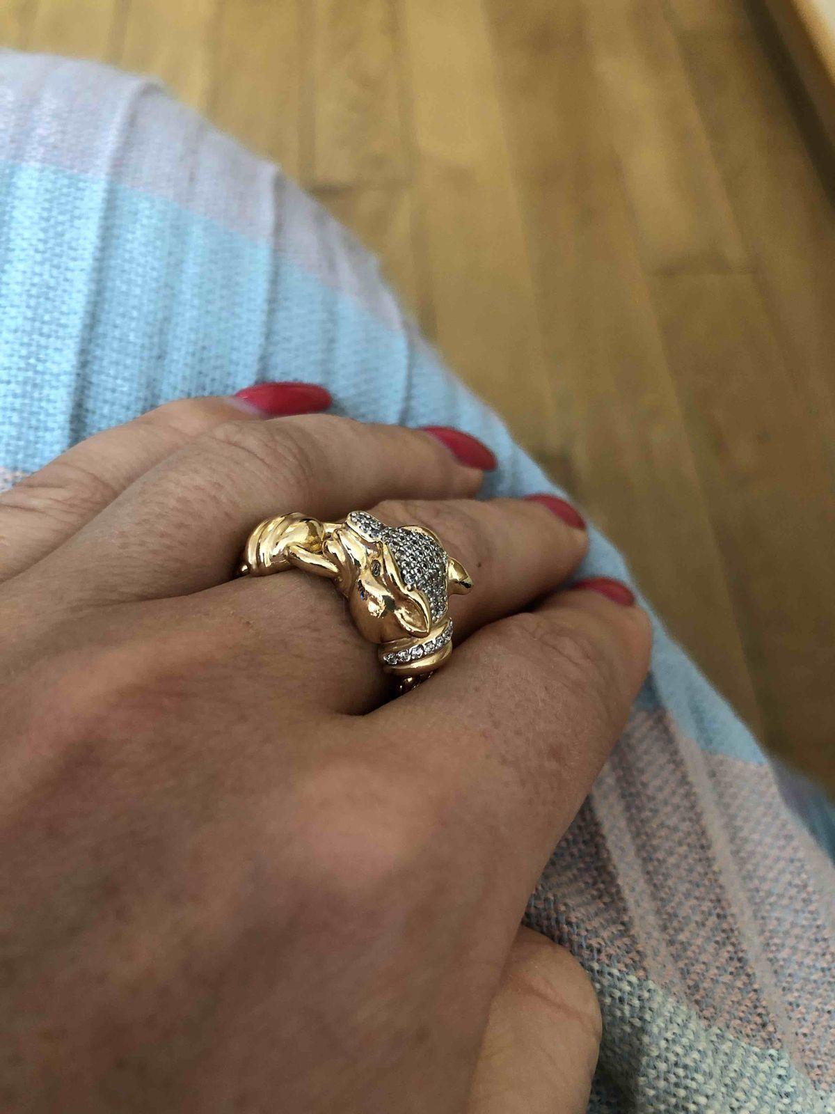 Кольцо тигр