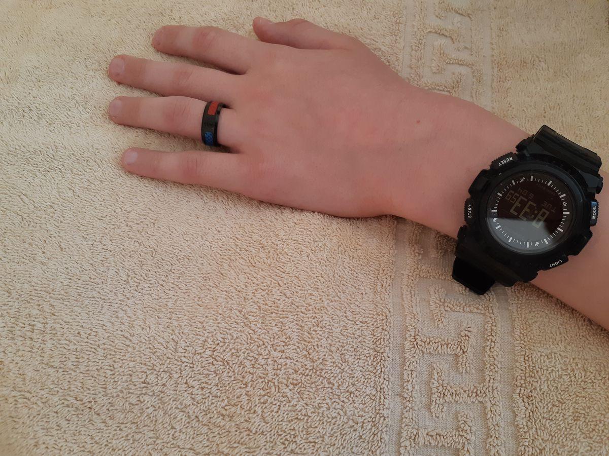 Первое в жизни кольцо