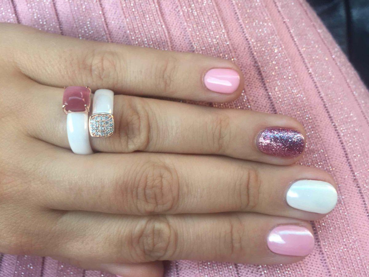 Нежное необычное кольцо