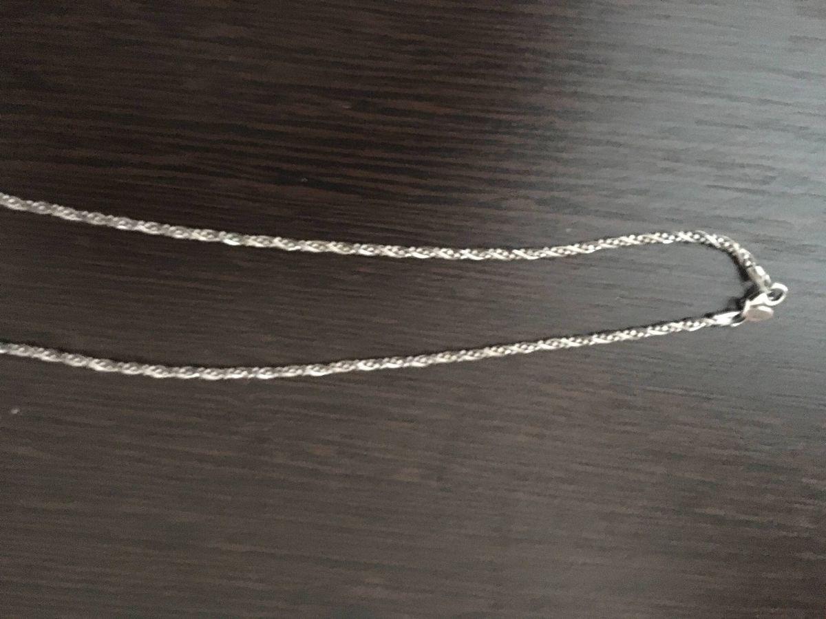 Серебрянная цепь- красивая и яркая!