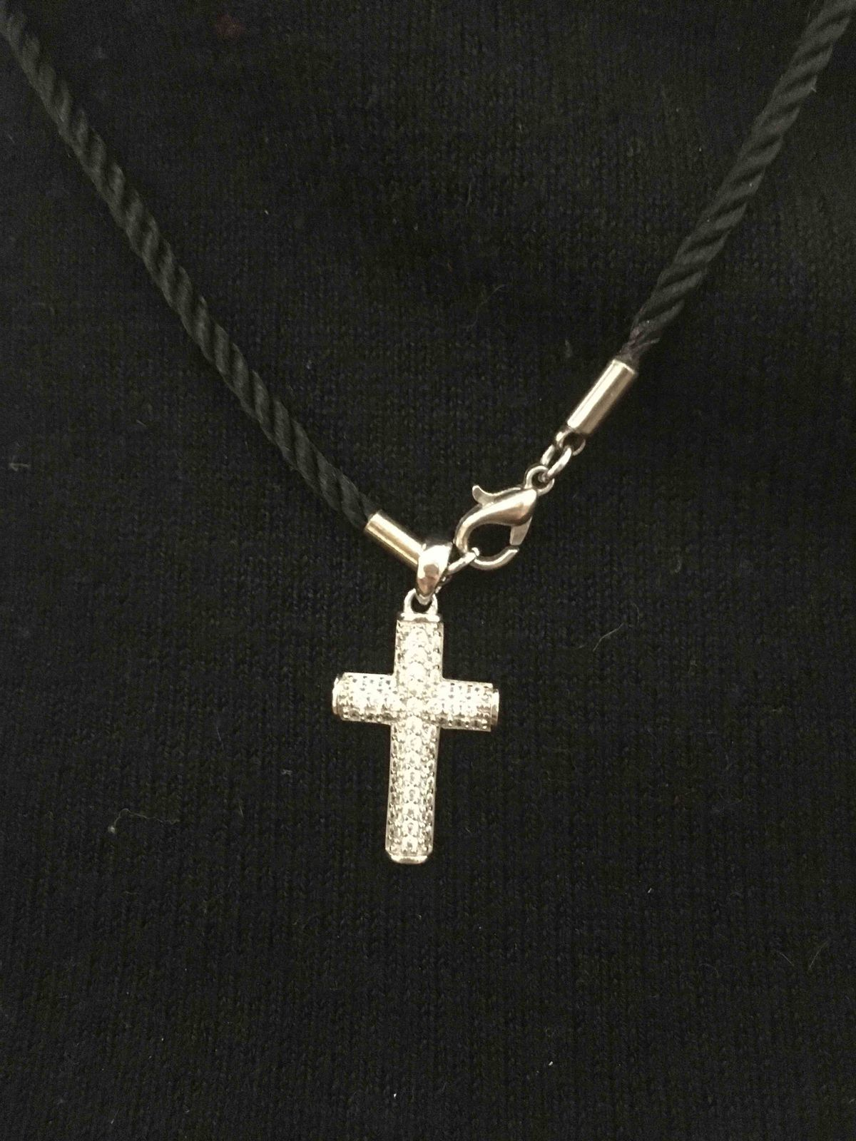 Крестик серебро