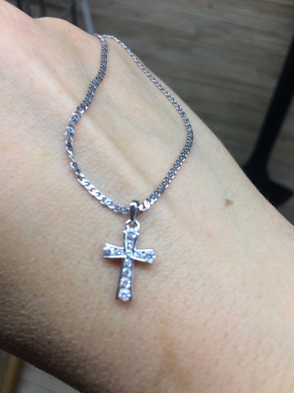 Отличный миниатюрный крестик !